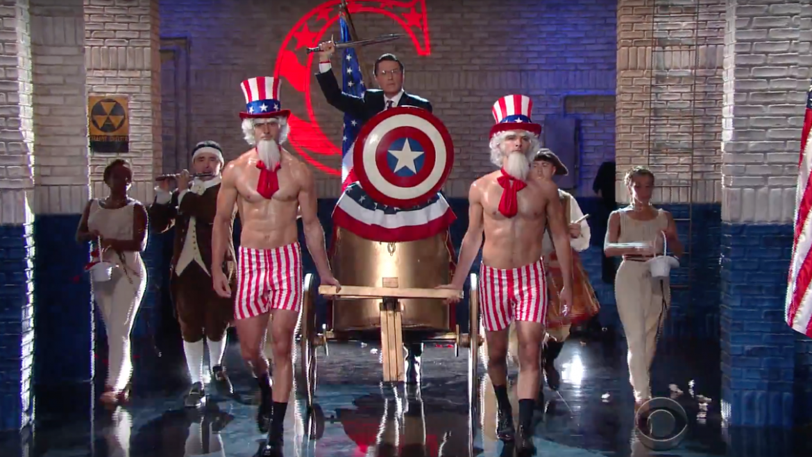 Stephen Colbert Brings Back 'Stephen Colbert' In An Excellent 'Late Show' Election Bit