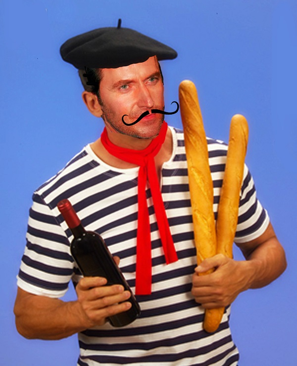 snooty french man