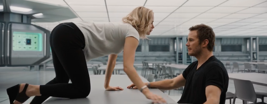 Chris Pratt And Jennifer Lawrence Shine In 'Passengers' Trailer