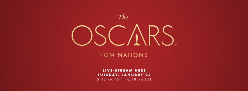 89th Academy Award Nominations LIVE!