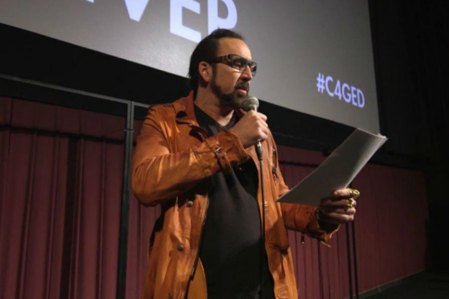 Nicolas Cage Reads 'The Tell-Tale Heart' At CAGED 4-EVER