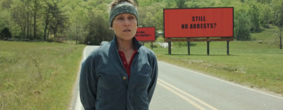 'Three Billboards' And 'Lady Bird' Win At The Globes