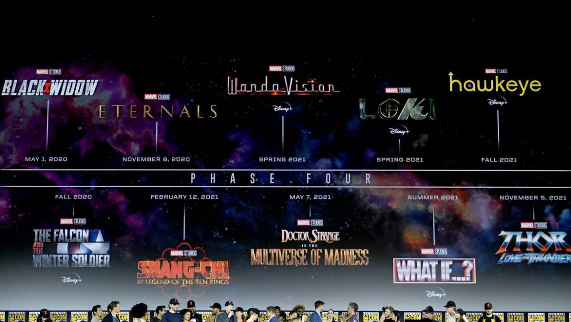 Marvel Announces Its Phase 4 Lineup
