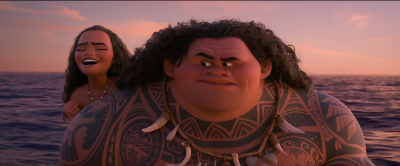 Watch The Official 'Moana' Olympics Trailer