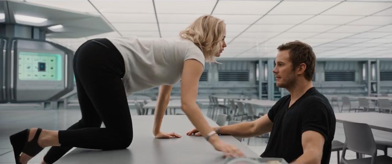 Chris Pratt And Jennifer Lawrence Shine In 'Passengers' Trailer