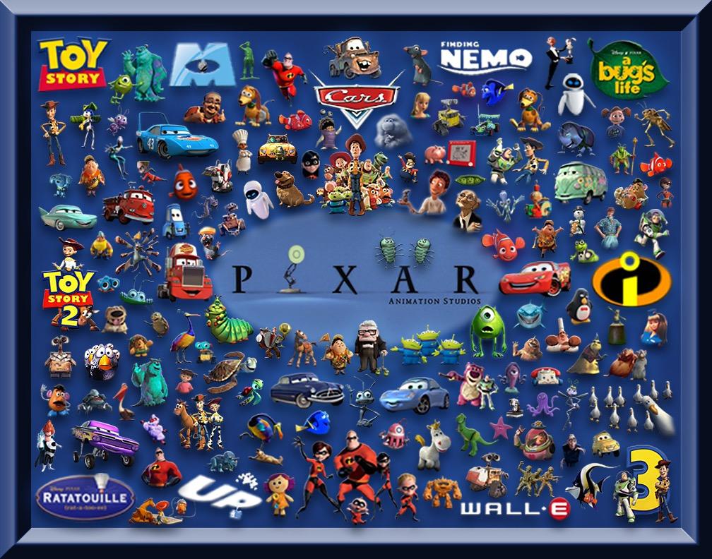 """""""Wednesday"""" Listicle: Top Ten Pixar Characters"""