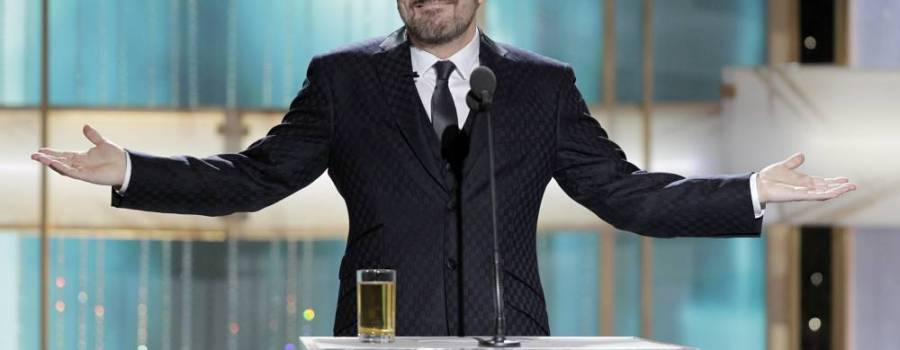 Awards Season Bad Boy Ricky Gervais To Host Golden Globes For Fifth Time
